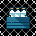 Crate Milk Box Icon