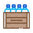Box Bottles Milk Icon