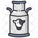 Milk Bucket Milk Container Milk Icon