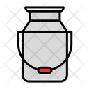 Milk Can Can Milk Icon