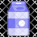 Packed Milk Milk Package Beverage Icon
