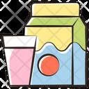 Box Milk Packaging Icon