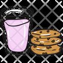 Milk Cookies Icon
