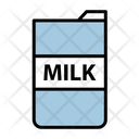 Milk Glass Glass Drink Icon