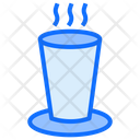 Milk Glass Milk Water Icon