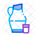 Jug Milk Glass Icon