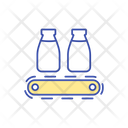 Milk Manufacturing Technology Icon