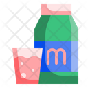 Milk Drink Glass Icon