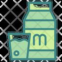 Milk Drink Glass Icon
