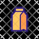 Takeout Contour Box Icon