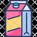 Milk Pack Bottle Milk Milk Box Icon