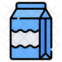 Milk Box Package Icon