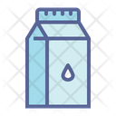 Dairy Packaged Tetrapack Icon