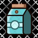 Milk Coffee Box Icon