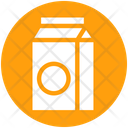 Milk Pack Breakfast Can Icon