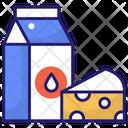 Milk Pack Milk Drink Icon