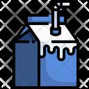 Milk Pack Milk Food Icon
