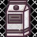 Milk Pack Milk Box Milk Carton Icon