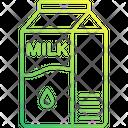 Milk Pack Milk Package Milk Carton Icon