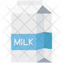 Milk Pack Milk Carton Milk Box Icon
