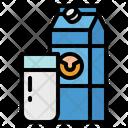 Milk Breakfast Bottle Icon