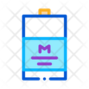 Packaged Milk Dairy Icon