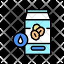Milk Oat Package Icon