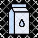 Milk Package Milk Carton Milk Container Icon