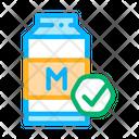 Milk Packing Icon
