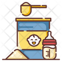 Milk Powder Baby Food Food Packet Icon