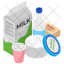 Milk Products Dairy Products Cheese Products Icon