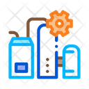Milk Products Factory Icon