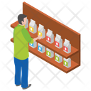 Milk Rack Tetra Pack Milk Pack Icon