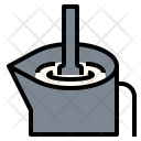 Milk Steaming Latte Icon