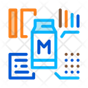 Milk Structure Factory Icon