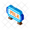 Amount Milk Tank Icon