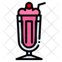 Milkshake Dessert Beverage Icon
