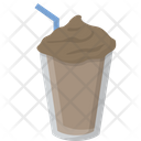 Chocolate Shake Drink Milk Icon