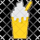 Milkshake Dessert Ice Cream Icon