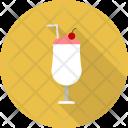 Milkshake Restaurant Concept Icon