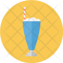 Milkshake Juice Straw Icon