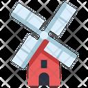 Mill Windmill Farming Icon