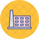 Mill Building Chimney Icon
