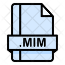 Mim File File Extension Icon