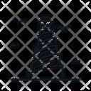 Line X Minaret Icon