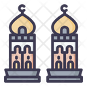 Minaret Muslim Architecture Icon