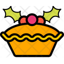 Christmas Mince Pie Icon