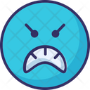Mind Sad Rage Icon