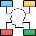 Map Mind Network Icon