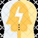 Mind Brainstorm Idea Icon